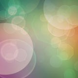 Bokeh background. Purple, green, blue pastel colorful background. bokeh  blurred lights background Stock Photography