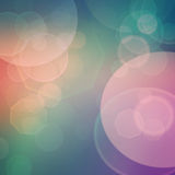 Bokeh background. Purple, green, blue and pink  pastel colorful background. bokeh  blurred lights background Royalty Free Stock Photo