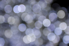 Bokeh background. White bokeh lights shot. Can be used as a background Stock Photography