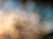 Bokeh background. Hazy abstract light spots background