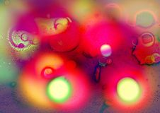 Bokeh Background. Abstract Blur Background. Bokeh abstract blurry background. colorful Background design stock illustration