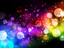 Bokeh background. Abstract colorful bokeh light background Royalty Free Stock Images