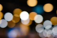 Bokeh background. Stock Images