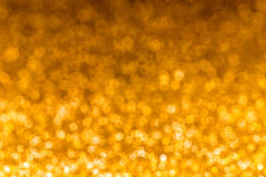 Bokeh background. Christmas and New Year feast bokeh background with copyspace Stock Image