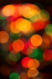 Bokeh background of Christmaslight Royalty Free Stock Photography