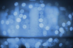 Bokeh background circular glow Stock Photography