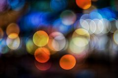 Bokeh background stock illustration