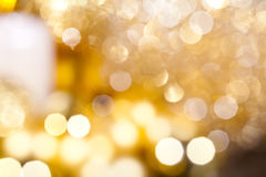 Bokeh background design holiday glitter abstract Stock Image
