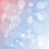 Bokeh background illustration Royalty Free Stock Photography