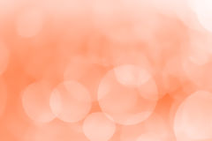 Bokeh background light orange. Color Stock Image
