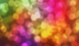 Multi colour Bokeh Background Stock Image