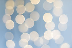 Bokeh Background - Pale Bllue Royalty Free Stock Photography