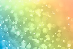 Bokeh background pastel gradient turgquoise yellow amber. Bokeh background pastel gradient yellow amber  blur abstract Royalty Free Stock Photos