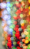 Bokeh Background. Background shot of colorful bokeh Stock Images