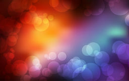 Bokeh background with space for  text. Beautiful rainbow bokeh background with space for your text Stock Images