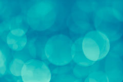 bokeh background teal Royalty Free Stock Photography