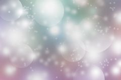 Bokeh background. Background to the various applications of soft pastel colors stock photo