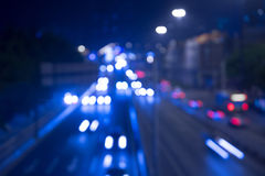 Bokeh background of traffic light stock image