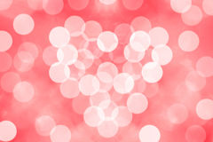 Bokeh background with valentine Royalty Free Stock Images