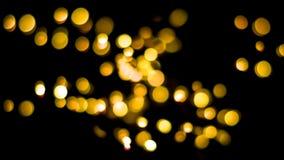 Bokeh background of warm lights