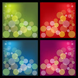 Bokeh backgrounds Stock Photos