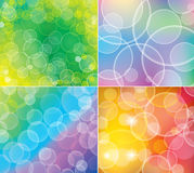 Bokeh backgrounds Royalty Free Stock Photos