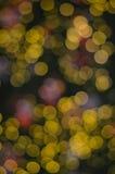 Bokeh bakgrund Royaltyfria Bilder