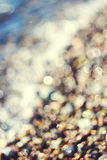 Bokeh beach Royalty Free Stock Photo