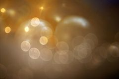 Bokeh and Beads Royalty Free Stock Photography