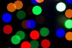 Bokeh beleuchten abstrakten Hintergrund der Weinlese, bokeh Licht, bokeh Rückseite Lizenzfreie Stockfotos