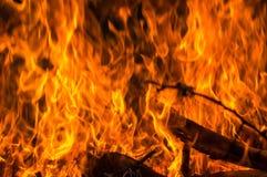Bokeh beleuchtet auf schwarzem Hintergrund, Schuss von Fliegenfeuerfunken in der Luft Lizenzfreies Stockfoto