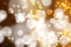Bokeh beleuchtet Hintergrund stock abbildung