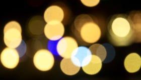 Bokeh, bello cerchio, luce di riflessione, astratta Fotografia Stock