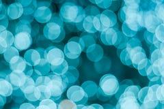 Bokeh bleu pour le fond Photos stock