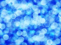 Bokeh blue background Royalty Free Stock Images