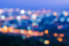 Bokeh Blue Background Royalty Free Stock Image