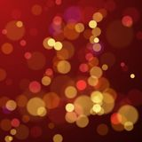 Bokeh blur abstract background with lights. New Year and Christmas holiday background. Vector illustration.  royalty free illustration