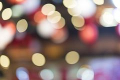 Bokeh blur background