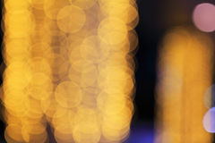 Bokeh blur light Stock Photography