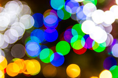Bokeh blur lights Stock Image