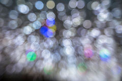 Bokeh Blur motion Stock Image