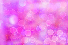 Bokeh blur at night for background of Christmas light.  royalty free stock image