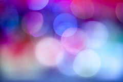 Bokeh blur at night for background of Christmaslight Royalty Free Stock Photos