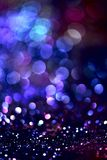 Bokeh Blurred abstract background for birthday, anniversary, wedding, new year eve or Christmas.  Royalty Free Stock Photo