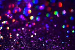 Bokeh Blurred abstract background for birthday, anniversary, wedding, new year eve or Christmas. Bokeh Colorfull Blurred abstract background for birthday Stock Photo
