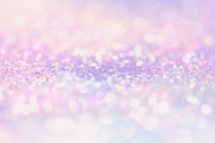 Bokeh Blurred abstract background for birthday, anniversary, wedding, new year eve or Christmas. Bokeh Colorfull Blurred abstract background for birthday Stock Photos
