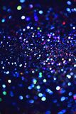 Bokeh Blurred abstract background for birthday, anniversary, wedding, new year eve or Christmas. Bokeh Colorfull Blurred abstract background for birthday Stock Image