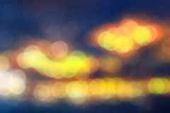 Bokeh blurred abstract background stock photo