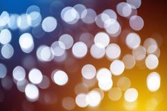 Bokeh blurred abstract colorful background, defocused light. Bokeh blurred abstract colorful background, defocused blurry play of light stock photography