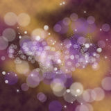 Bokeh blurred festive Christmas background Royalty Free Stock Photography
